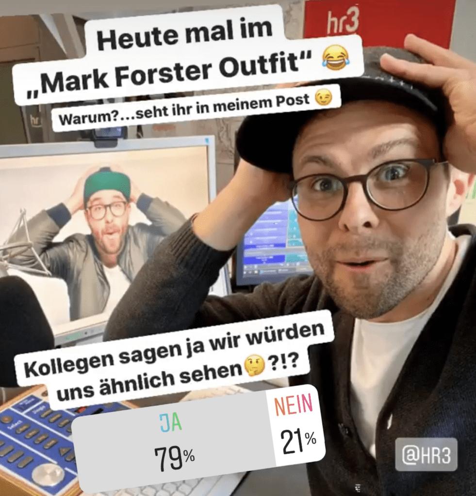 Kai Fischer - HR3 Moderator - kaifischer.tv - Ähnlichkeit Mark Foster